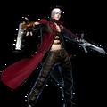 Dante's Win Pose