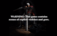 DMC1 Trial Edition - WARNING screen