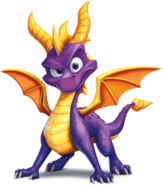 Spyro Transparent