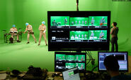 DEVO Fresh Videoshoot Greenscreen