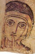 Faras Saint Anne (detail)