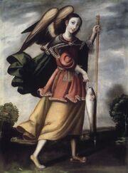 Brooklyn Museum - Archangel Raphael - overall.jpg