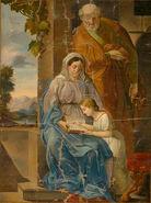 Pavel Künl - Sv. Joahim in Ana z Marijo