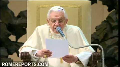 """Benedicto XVI """"San Francisco de Sales revolucionó el papel de los laicos"""""""
