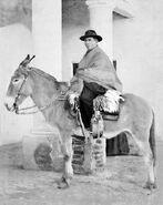 El cura Brochero a lomo de mula