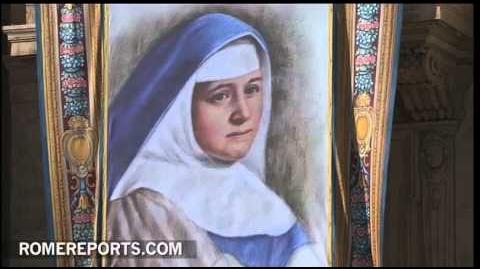 Papa habla de Carmen Sallés en la homilía de la canonización de los siete nuevos santos