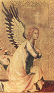 Simone Martini The Angel Of The Annunciation