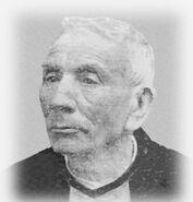 José Gabriel Brochero - En su ancianidad afectado de lepra