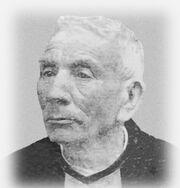 José Gabriel Brochero - En su ancianidad afectado de lepra.jpg