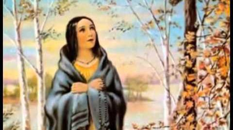 Canonización de Catalina (Caterina) Tekakwitha, la primera santa «piel roja» de América