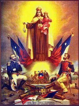 Chile - Estampa de la Virgen del Carmen.jpg