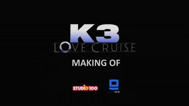 K3 Love Cruise - Making Of
