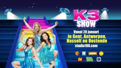 K3 Show 2017 - Trailer 2 (Vlaanderen)