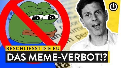 Das Ende der Memes? Die Folgen des neuen EU-Artikels 13 WALULYSE