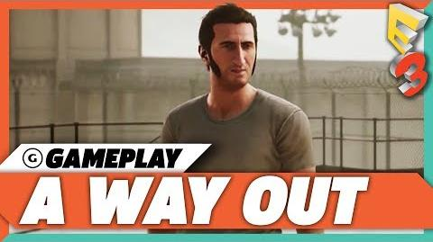 A Way Out - Official E3 2017 Gameplay Trailer HD EA Play Press Conference