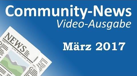 AML Tony/Community-News: März 2017