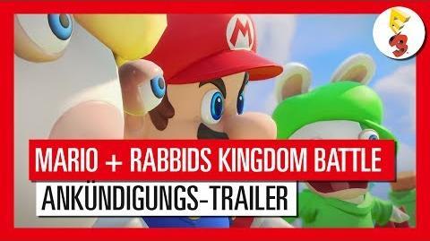 Mario + Rabbids Kingdom Battle - E3 2017 Ankündigungs-Trailer Ubisoft DE