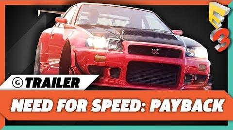 Need For Speed Payback Gameplay Trailer - E3 2017 EA Play Press Conference