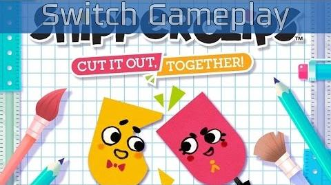 Snipperclips - Nintendo Switch Gameplay HD 60FPS
