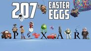 Every Pixar Easter Egg Ever in 20 Minutes