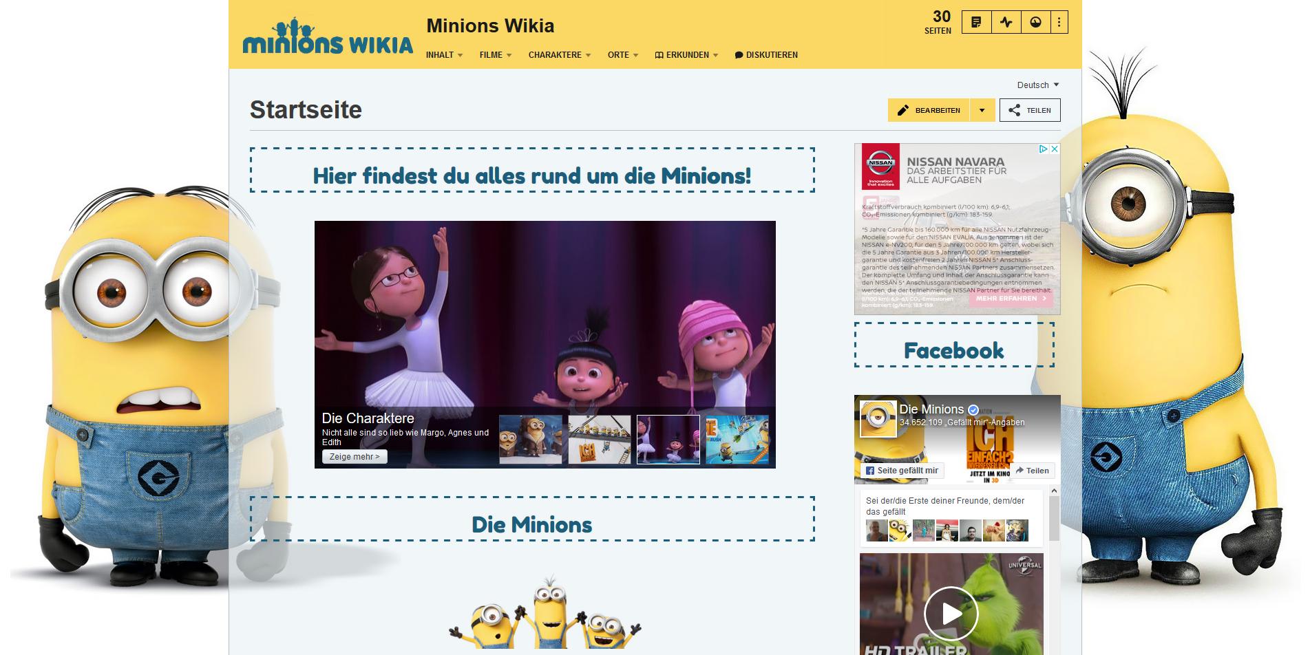 Hilfe für die Gestaltung deines Wikis erhalten