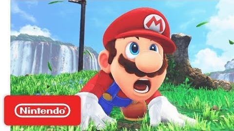 Super Mario Odyssey - Game Trailer - Nintendo E3 2017-0