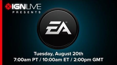 ElBosso/Electronic Arts Pressekonferenz gamescom 2013