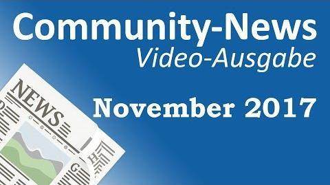 SpacePucky/Community-News: November 2017