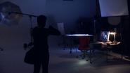 25 Dexter in Farrow's studio S4E7