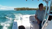 Dexter leaves on boat S5E1