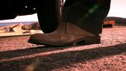 Blood on Quinn's shoe 511