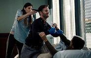 Dexter and Debra capture Oliver Saxon