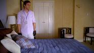 Dexter in Cole's room 508