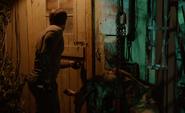 Dexter enters Sussman's cabin S8E2