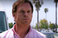 7 Dexter sprayed with Wayne's blood
