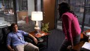 25 Maria talks Miguel to Dexter S3E11