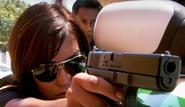 Deb with gun S4E5