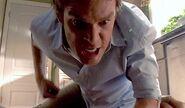 Dexter attacks Arthur Mitchell