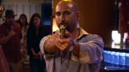 14 Ramon pulls gun on Dexter S3E12