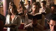 1 Dexter sings in church S4E6