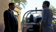 Cole's remains in Dexter's luggage 508