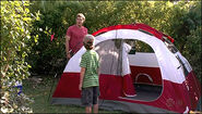 Dexter and Cody on camping trip