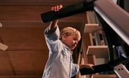 Harrison on treadmill S8E10