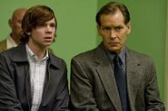 Dexter and Harry watching an execution