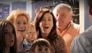 Family at Dexter's door