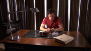 12 Dexter with Lundy's files S4E5