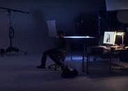 7 Dexter in Farrow's studio