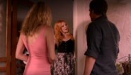 Arlene answers door to Hannah and Dexter
