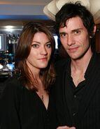 Jennifer Carpenter and Christian Camargo