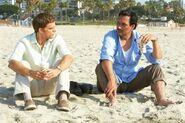 Miguel seeks to gain Dexter's trust
